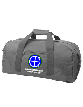 35th Infantry Division Embroidered Duffel Bag