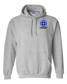 35th Infantry Division Embroidered Hooded Sweatshirt