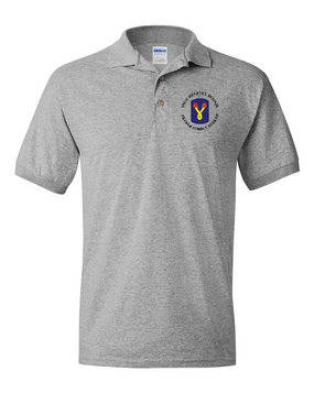 "196th Light Infantry Brigade ""Vietnam"" (C)  Embroidered Cotton Polo Shirt"