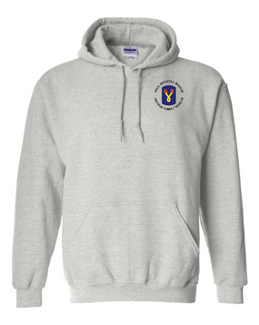 "196th Light Infantry Brigade ""Vietnam"" (C)  Embroidered Hooded Sweatshirt"