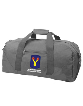 "196th Light Infantry Brigade ""Vietnam""  Embroidered Duffel Bag"