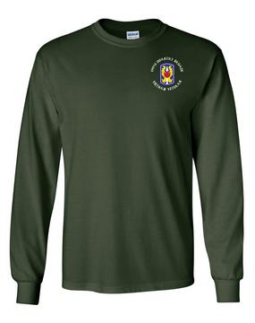"199th Light Infantry Brigade ""Vietnam"" (C) Long-Sleeve Cotton T-Shirt"