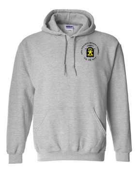 509th Parachute Infantry Regiment (C)  Embroidered Hooded Sweatshirt