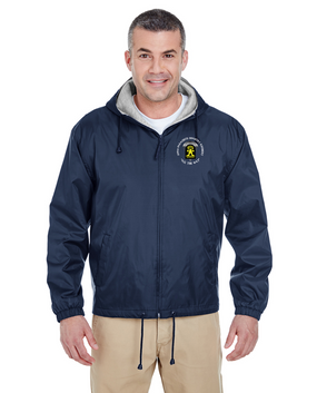 509th Parachute Infantry Regiment (C)  Embroidered Fleece-Lined Hooded Jacket