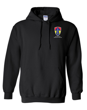 II Field Force Embroidered Hooded Sweatshirt
