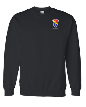I Field Force Embroidered Sweatshirt