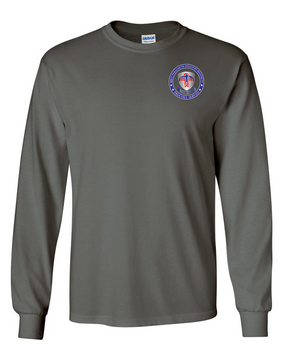 501st PIR  -Proudly Served -Long-Sleeve Cotton T-Shirt  (P)