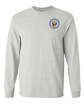 504th PIR  -Proudly Served -Long-Sleeve Cotton T-Shirt  (P)