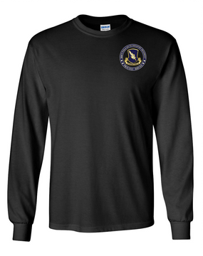 504th PIR (Crest)  -Proudly Served -Long-Sleeve Cotton T-Shirt  (P)