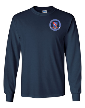 508th PIR (Crest)   -Proudly Served -Long-Sleeve Cotton T-Shirt  (P)
