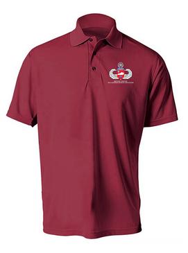 Kentucky Chapter Embroidered Moisture Wick Polo Shirt