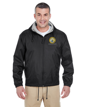 South Florida Chapter Embroidered Fleece-Lined Hooded Jacket