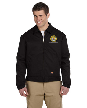 South Florida Chapter Embroidered Dickies 8 oz. Lined Eisenhower Jacket