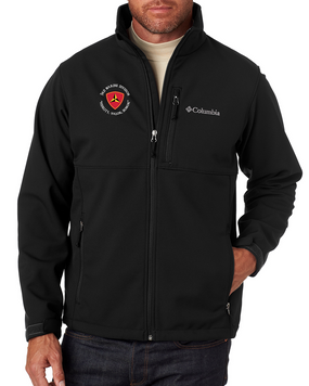 "3rd Marine Division ""Honor"" -C-Embroidered Columbia Ascender Soft Shell Jacket"