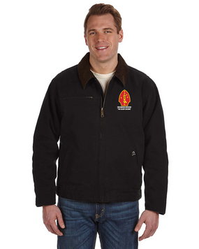 2nd Marine Division Embroidered DRI-DUCK Outlaw Jacket