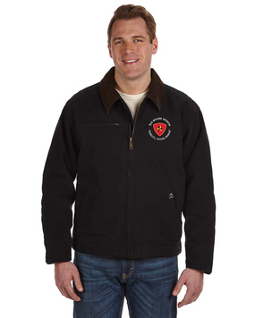 "3rd Marine Division ""Honor"" -C-Embroidered DRI-DUCK Outlaw Jacket"