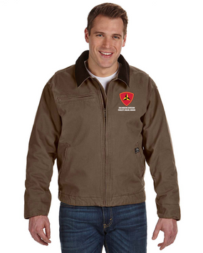 "3rd Marine Division ""Honor"" Embroidered DRI-DUCK Outlaw Jacket"