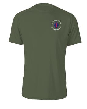"1st Marine Division ""Vietnam"" -C- Cotton Shirt"