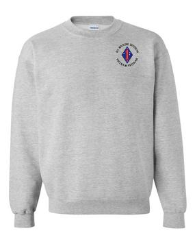 """1st Marine Division """"Vietnam"""" -C- Embroidered Sweatshirt"""