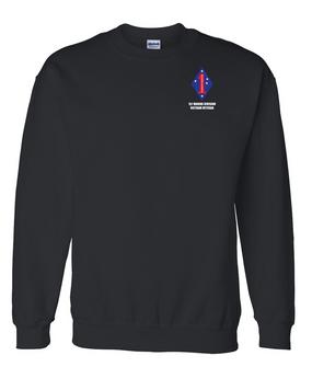 """1st Marine Division """"Vietnam"""" Embroidered Sweatshirt"""
