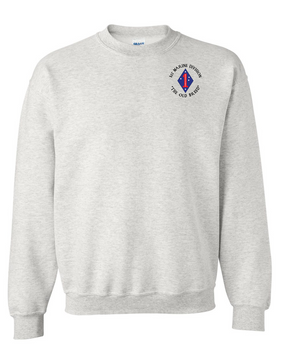 "1st Marine Division ""Old Breed""-C- Embroidered Sweatshirt"