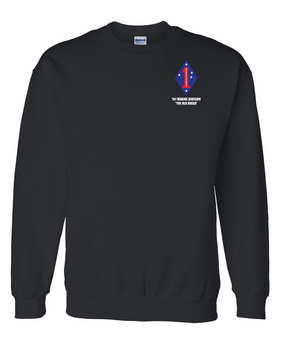"1st Marine Division ""Old Breed"" Embroidered Sweatshirt"