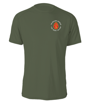 "2nd Marine Division ""Silent Second""-C-  Cotton Shirt"