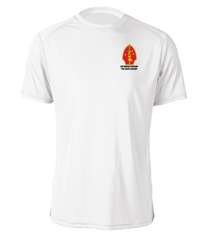 "2nd Marine Division ""Silent Second"" Cotton Shirt"