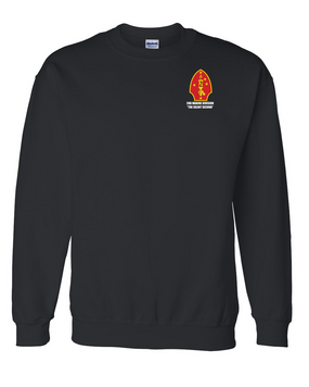 "2nd Marine Division ""Silent Second"" Embroidered Sweatshirt"