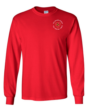 "3rd Marine Division ""Fighting Third""-C-  Long-Sleeve Cotton T-Shirt"