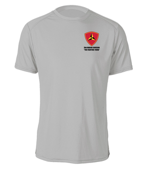 "3rd Marine Division ""Fighting Third""  Cotton Shirt"