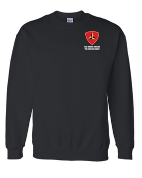 "3rd Marine Division ""Fighting Third"" Embroidered Sweatshirt"
