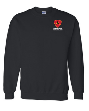 "3rd Marine Division ""Honor"" Embroidered Sweatshirt"