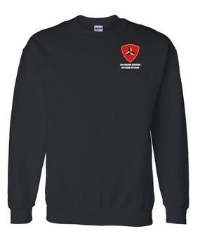 """3rd Marine Division """"Vietnam"""" Embroidered Sweatshirt"""