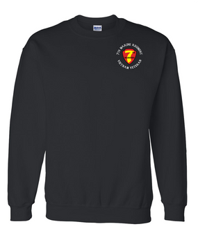"7th Marine Regiment ""Vietnam"" -C- Embroidered Sweatshirt"