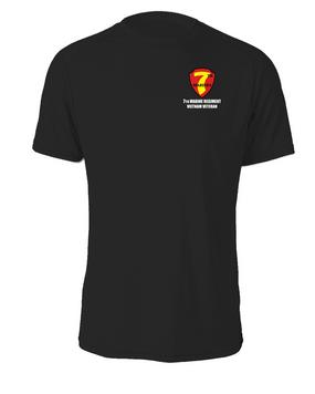 """7th Marine Regiment """"Vietnam"""" Cotton Shirt"""