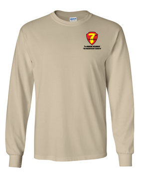 7th Marine Regiment Long-Sleeve Cotton T-Shirt