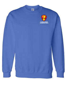 7th Marine Regiment Embroidered Sweatshirt