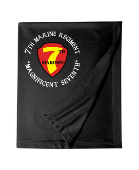 7th Marine Regiment -C-  Embroidered Dryblend Stadium Blanket