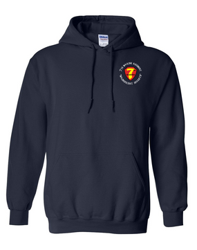 7th Marine Regiment-C- Embroidered Hooded Sweatshirt