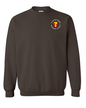 7th Marine Regiment-C- Embroidered Sweatshirt