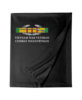 "Vietnam ""CIB"" Embroidered Dryblend Stadium Blanket"