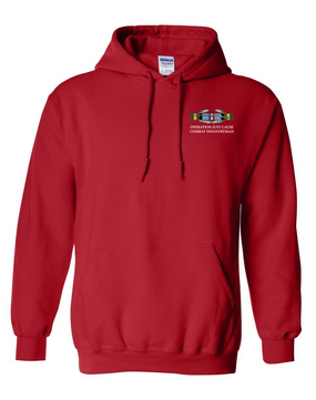 "Operation Just Cause (A)  ""CIB"" Embroidered Hooded Sweatshirt"