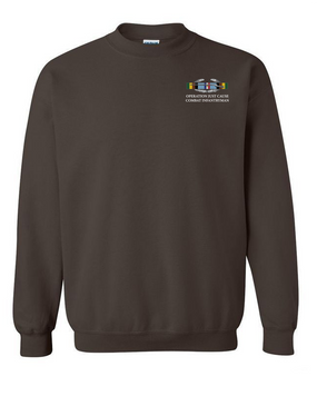 "Operation Just Cause (A)  ""CIB"" Embroidered Sweatshirt"