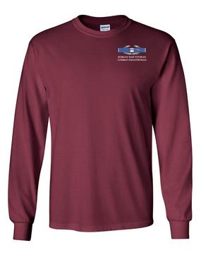 """Korea""""CIB"""" Long-Sleeve Cotton T-Shirt"""