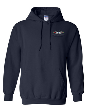 "Operation Enduring Freedom OEF ""CIB"" Embroidered Hooded Sweatshirt"
