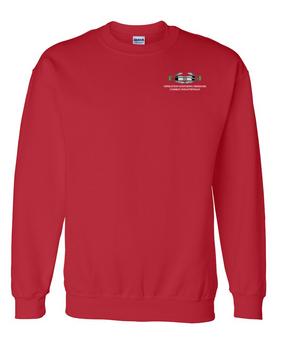 "Operation Enduring Freedom OEF  ""CIB"" Embroidered Sweatshirt"