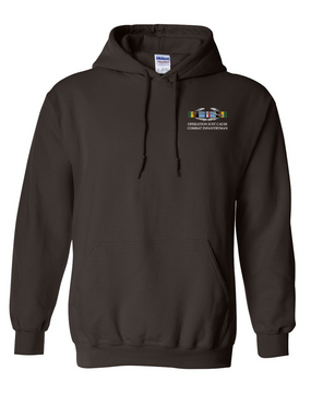 "Operation Just Cause ""CIB"" Embroidered Hooded Sweatshirt"
