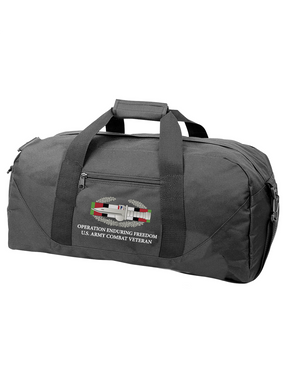 "Operation Enduring Freedom OEF ""CAB"" Embroidered Duffel Bag"