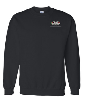 "Operation Enduring Freedom OEF  ""CAB"" Embroidered Sweatshirt"